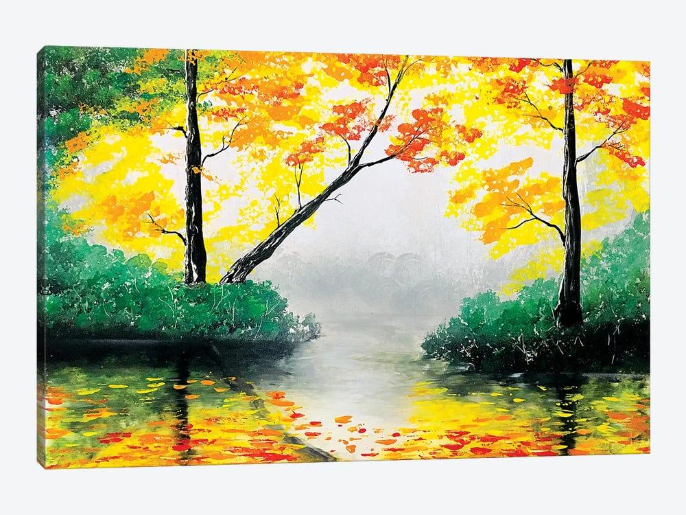 Quiet Autumn Landscape by Nicolay Homenko 1-piece Canvas Art