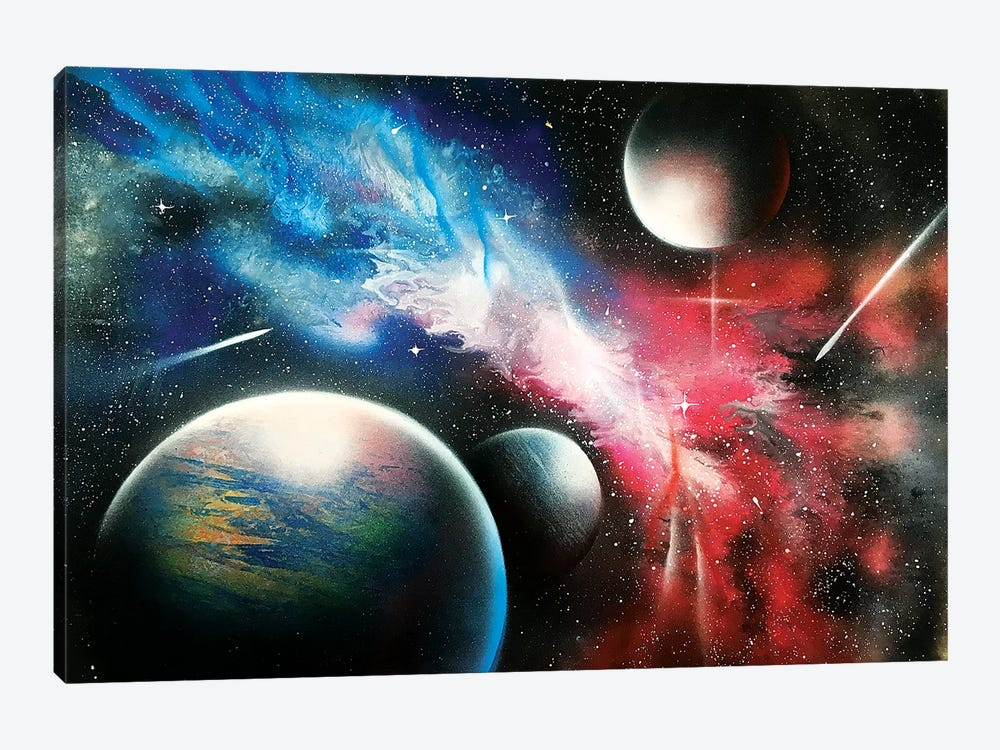 Realistic Space by Nicolay Homenko 1-piece Canvas Art Print