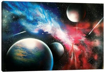 Realistic Space Canvas Art Print