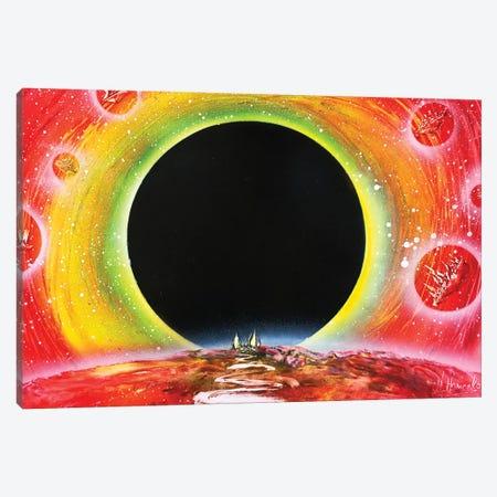 Black Hole Canvas Print #HMK11} by Nicolay Homenko Art Print