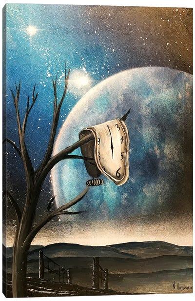 Salvador Dali Clock Persistence Of Memory Canvas Art Print