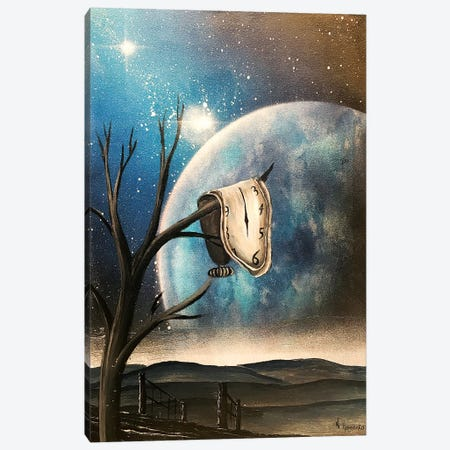 Salvador Dali Clock Persistence Of Memory Canvas Print #HMK126} by Nicolay Homenko Canvas Art