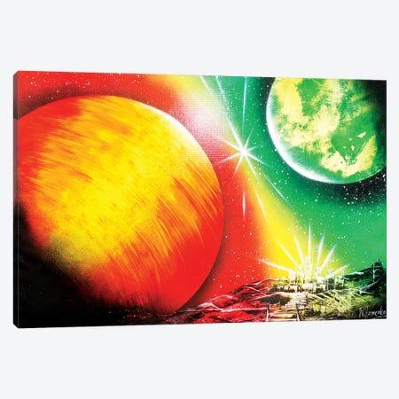 Sun View Canvas Print #HMK154} by Nicolay Homenko Canvas Print