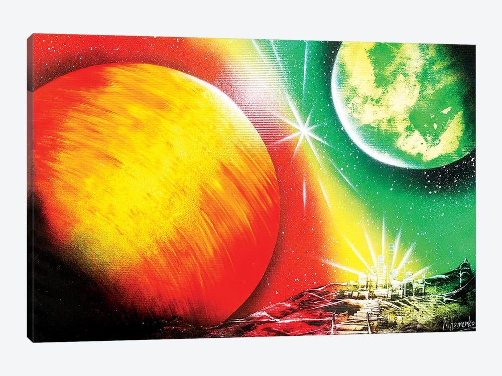 Sun View by Nicolay Homenko 1-piece Canvas Print