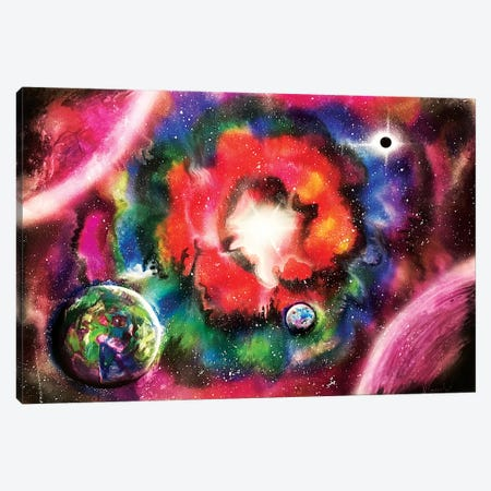 Supernova Explosion Canvas Print #HMK155} by Nicolay Homenko Canvas Print