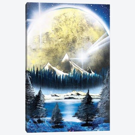 Winter Landscape Canvas Print #HMK164} by Nicolay Homenko Canvas Artwork