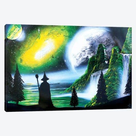 Wizard Canvas Print #HMK165} by Nicolay Homenko Canvas Artwork
