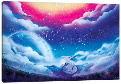 Cute Dragon Canvas Art Print