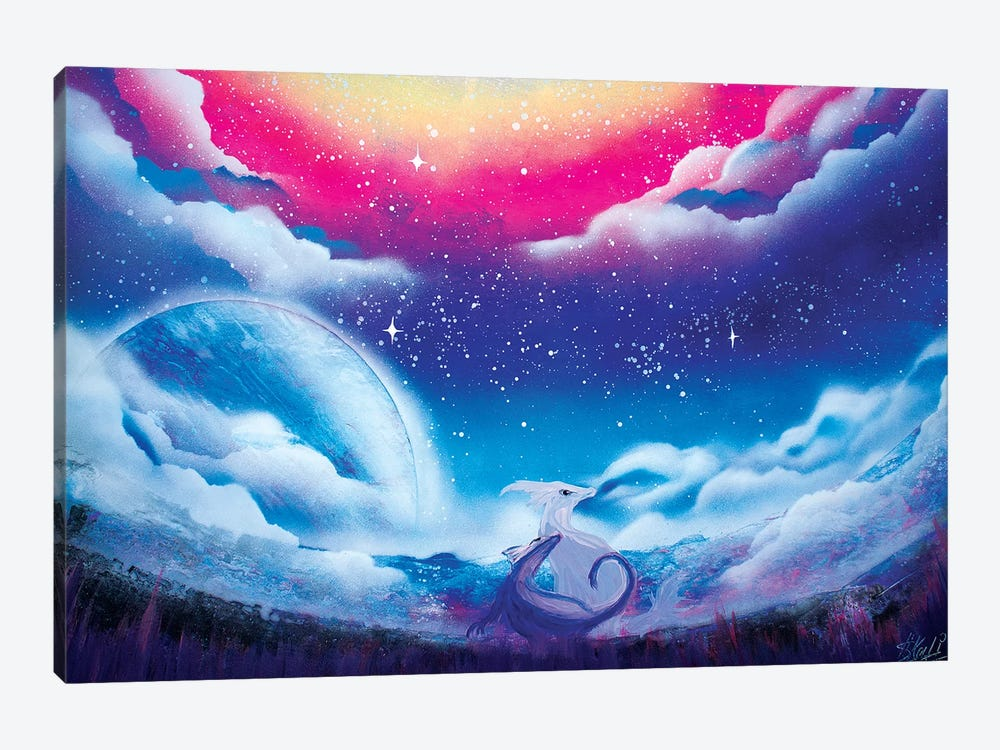 Cute Dragon 1-piece Canvas Print
