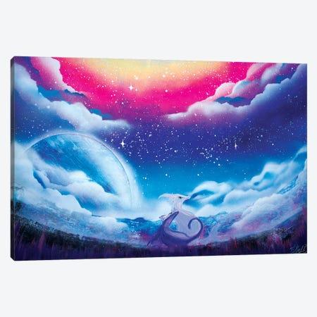 Cute Dragon Canvas Print #HMK170} by Nicolay Homenko Canvas Artwork