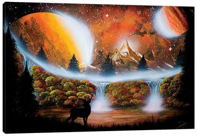Fall Deer Canvas Art Print
