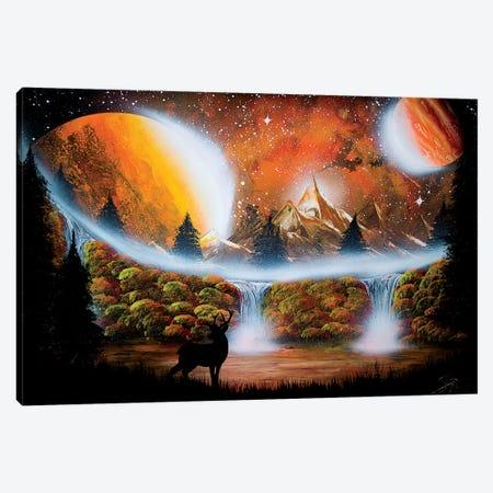 Fall Deer Canvas Print #HMK174} by Nicolay Homenko Art Print