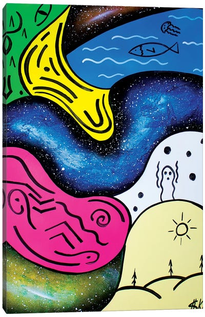 Four Elements Canvas Art Print
