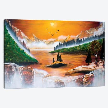 Hot Fall Canvas Print #HMK177} by Nicolay Homenko Canvas Print
