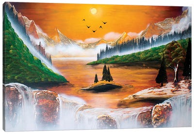 Hot Fall Canvas Art Print