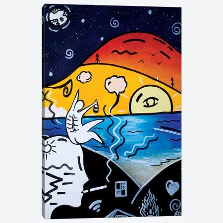 Hot Summer Canvas Print #HMK178} by Nicolay Homenko Canvas Wall Art