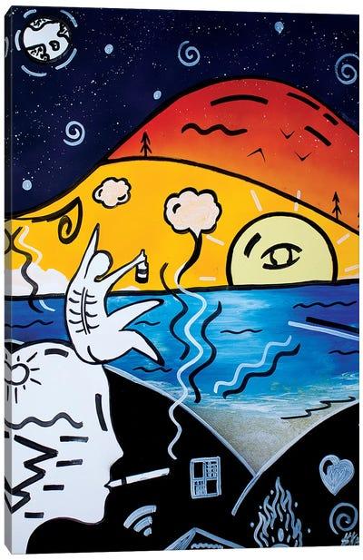 Hot Summer Canvas Art Print