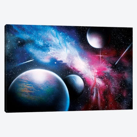 Hyperrealistic Space Canvas Print #HMK179} by Nicolay Homenko Canvas Artwork