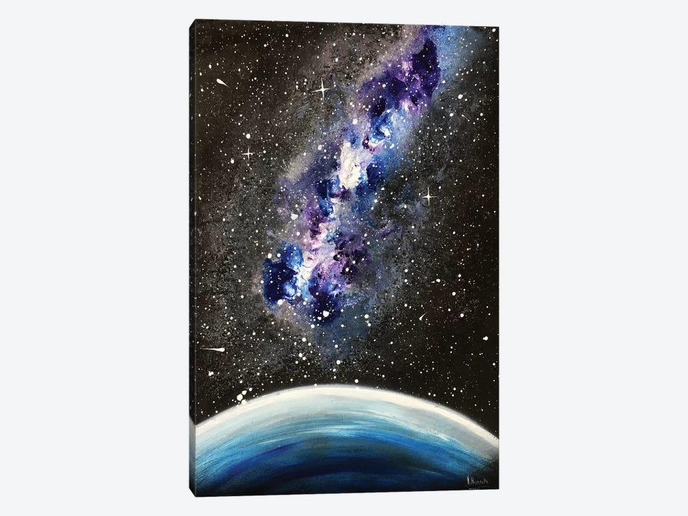 Blue Violet Nebula by Nicolay Homenko 1-piece Canvas Wall Art