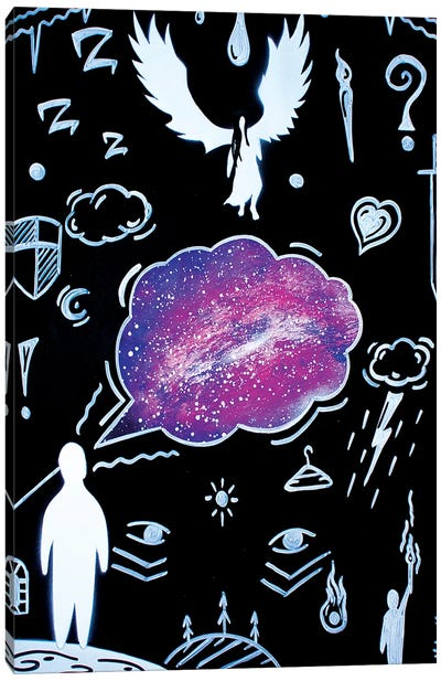 My Angel Canvas Art Print