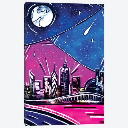 New York Canvas Print #HMK181} by Nicolay Homenko Art Print