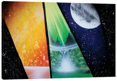 All In One Canvas Art Print