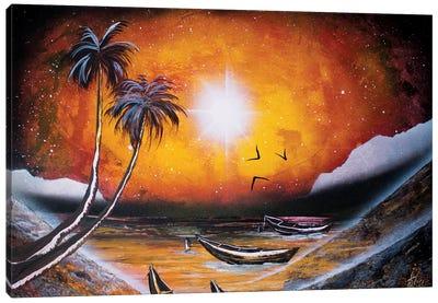 Beautiful Sunset Canvas Art Print