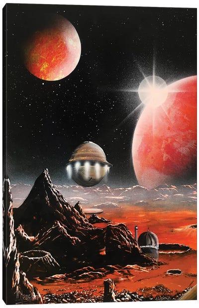 60's Style Sci Fi Canvas Art Print