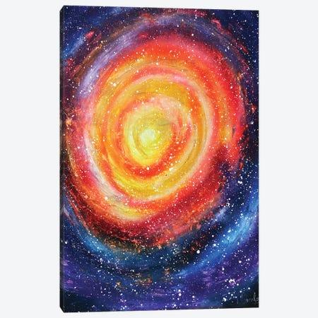 Colorful Space Whirlpool Canvas Print #HMK31} by Nicolay Homenko Art Print