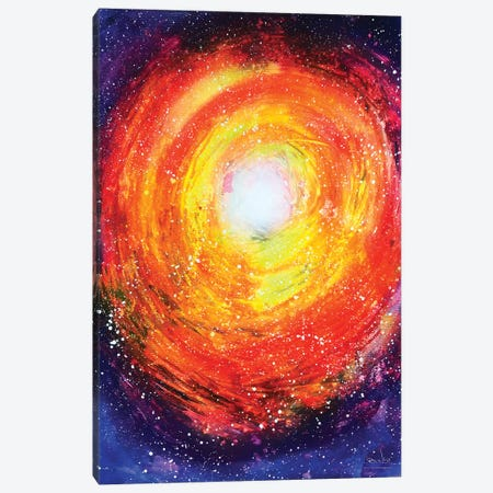 Colorful Spiral Abstract Canvas Print #HMK32} by Nicolay Homenko Canvas Print