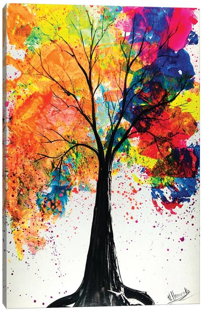 Colorful Tree Canvas Art Print