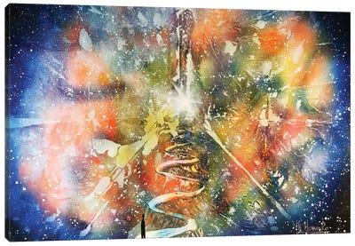 Alien Way Canvas Art Print