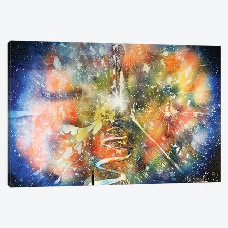 Alien Way Canvas Print #HMK3} by Nicolay Homenko Canvas Artwork