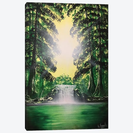 Green Forest Canvas Print #HMK58} by Nicolay Homenko Canvas Art Print