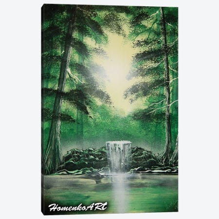 Green Trees Canvas Print #HMK60} by Nicolay Homenko Canvas Artwork
