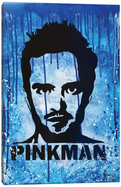 Jesse Pinkman Breaking Bad Canvas Art Print