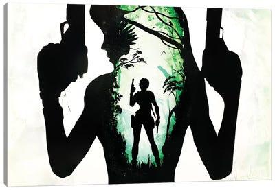 Lara Croft Art Canvas Art Print