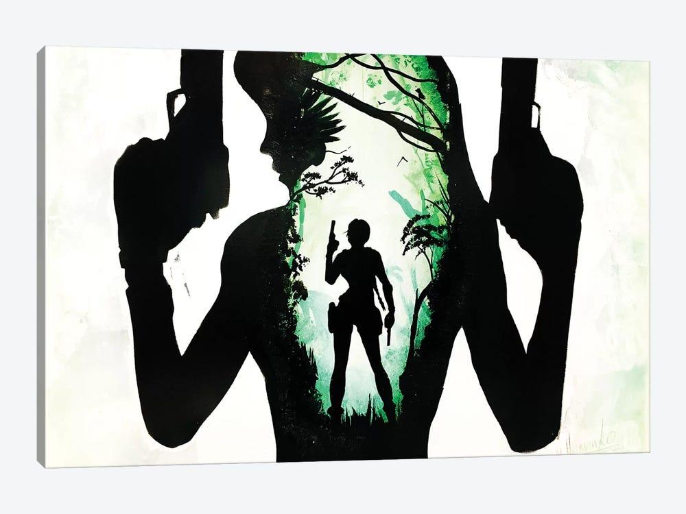 Lara Croft Art by Nicolay Homenko 1-piece Canvas Art