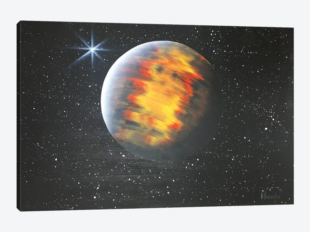 Lonely Mars by Nicolay Homenko 1-piece Canvas Art Print