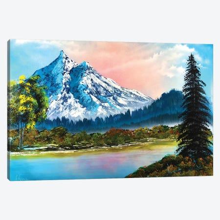 Mountain Landscape Canvas Print #HMK72} by Nicolay Homenko Canvas Art Print