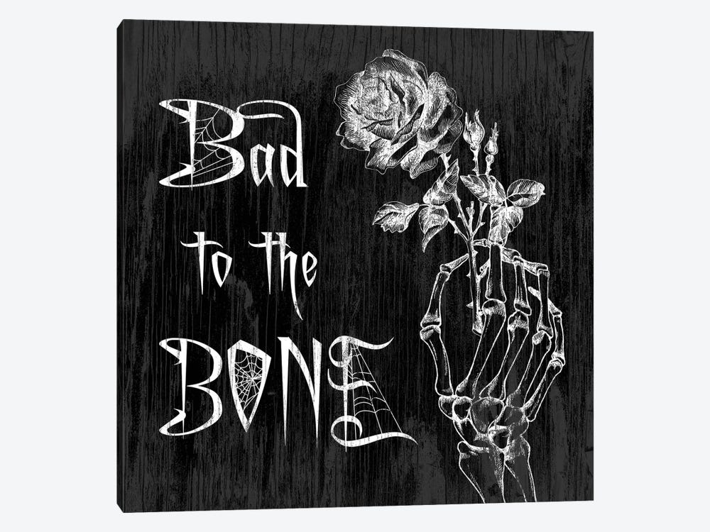 Bad To The Bone by 5by5collective 1-piece Canvas Print