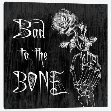 Bad To The Bone Canvas Print #HMO1} by 5by5collective Canvas Wall Art