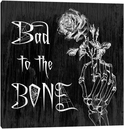 Bad To The Bone Canvas Art Print
