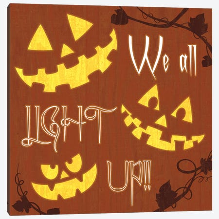 We All Light Up Canvas Print #HMO8} by 5by5collective Canvas Artwork
