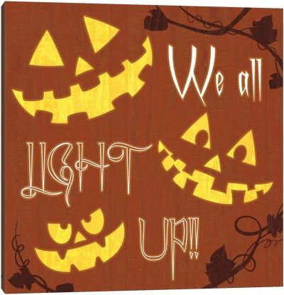 We All Light Up Canvas Art Print