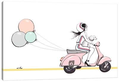 Sweet Ride Canvas Art Print