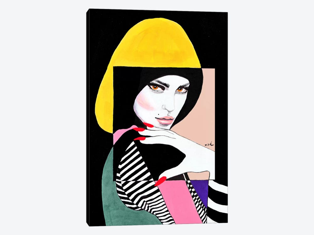 Technicolor by Anna Hammer 1-piece Art Print