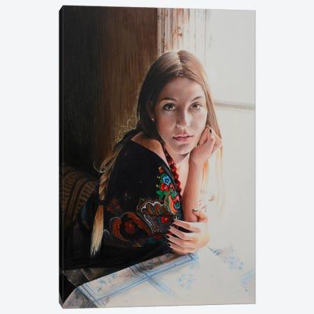Waiting For Nightfall Canvas Print #HMR112} by Anna Hammer Canvas Print
