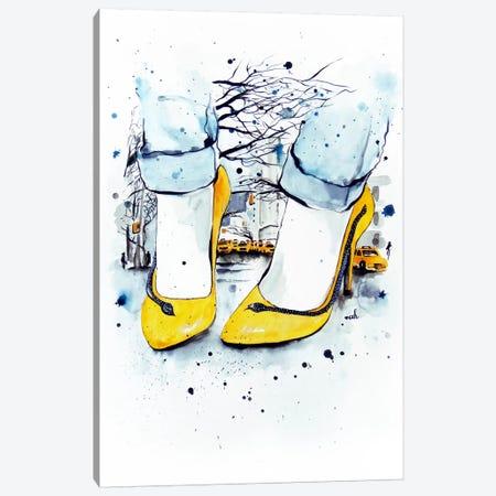 We Take Manhattan Canvas Print #HMR113} by Anna Hammer Canvas Print