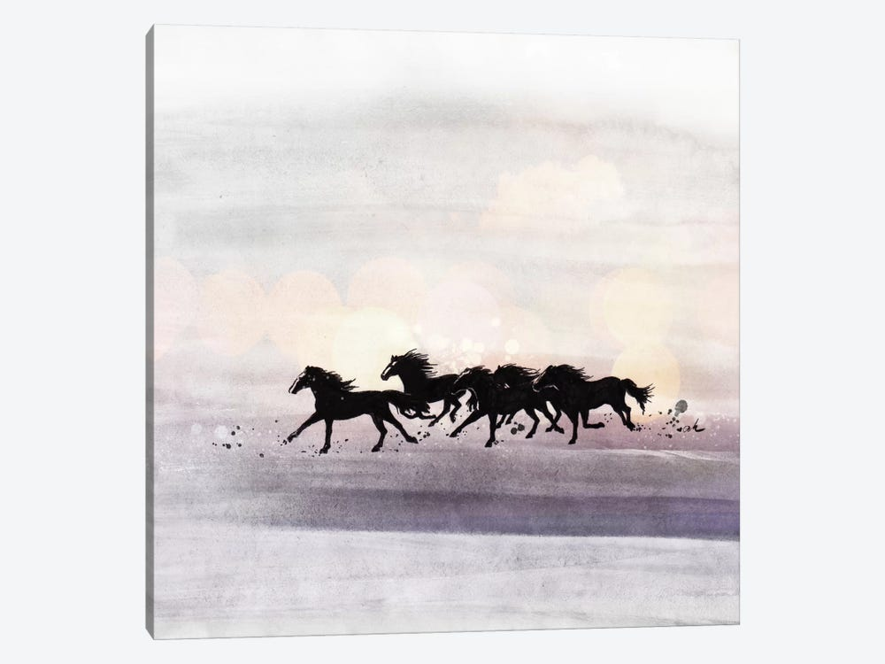 Wild And Free by Anna Hammer 1-piece Canvas Wall Art